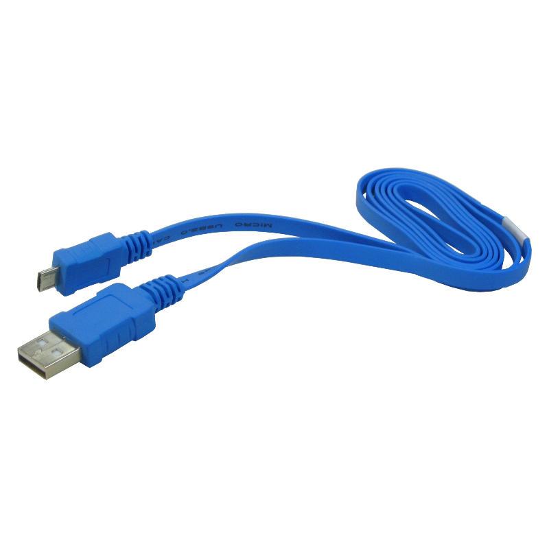 USB Kabel Ladekabel Datenkabel Flachkabel für Meizu M2 Note