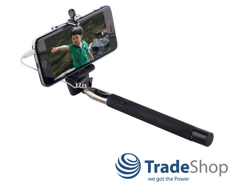 selfie stick teleskop stange stab mit ausl ser f r sony xperia e3 m m2 ebay. Black Bedroom Furniture Sets. Home Design Ideas