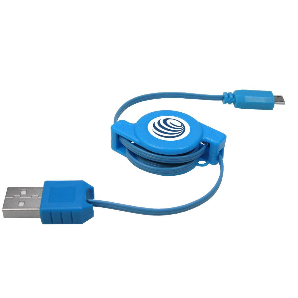 Cable-usb-Cable-de-charge-Extensible-rollkabel-pour-HP-palm-veer-4g-pre2-pre-2-prr3 miniature 3