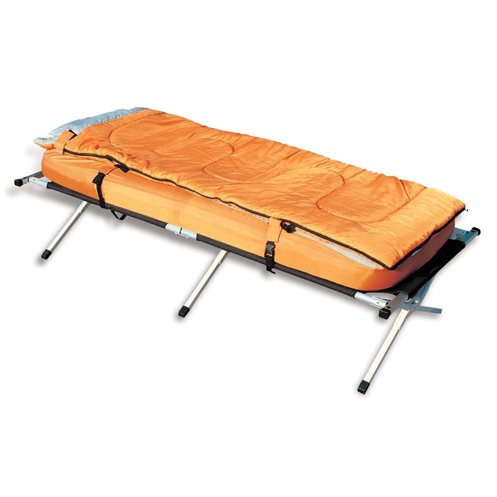 camping bett 3 in 1 inkl feldbett luftbett schlafsack ebay. Black Bedroom Furniture Sets. Home Design Ideas