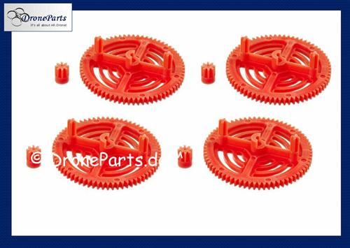 AR.Drone DroneParts High Performance Tuning Getriebe/Gears (Orange)!