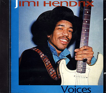 CD - JIMI HENDRIX / VOICES