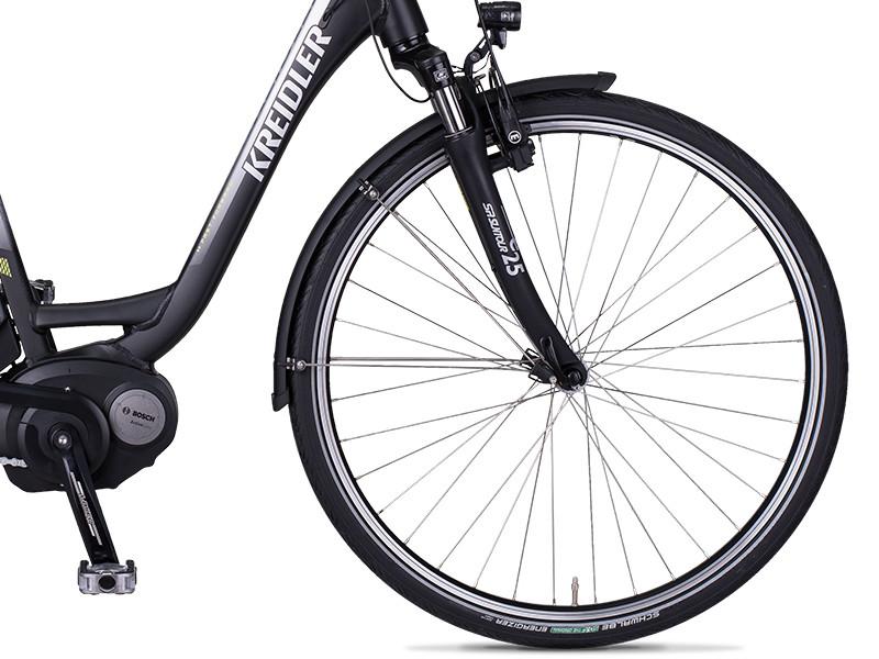 e bike kreidler vitality eco3 schwarz mittelmotor bosch model 2017 bis zu 180 km ebay. Black Bedroom Furniture Sets. Home Design Ideas