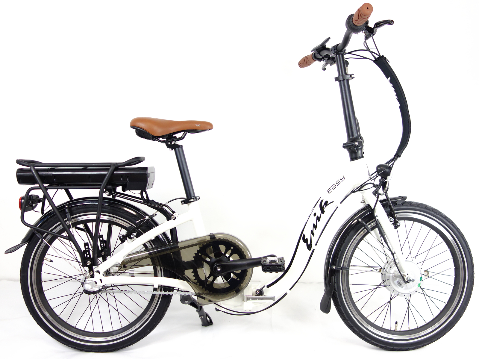 enik alu falt e bike easy klapprad faltrad elektrofahrrad pedelec 20 r cktritt ebay. Black Bedroom Furniture Sets. Home Design Ideas