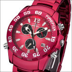 FIREFOX Aluminium Alarm Chronograph ROT FFA02-171