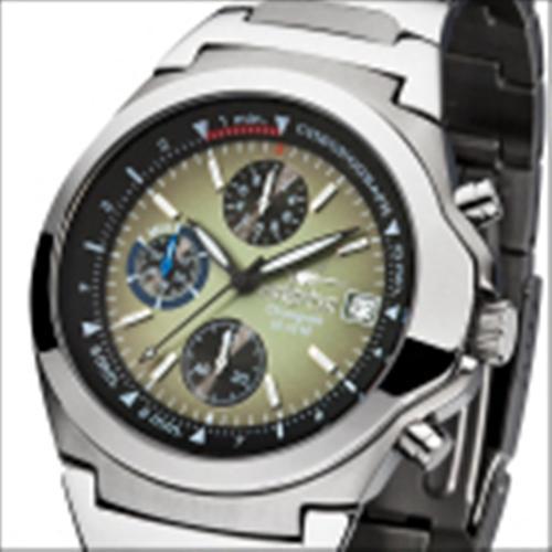 FIREFOX Edelstahl Chronograph CLASSIC FFS06-115 oliv