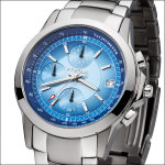FIREFOX SHOOTER Edelstahl Chronograph FFS07-103 blau