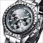 FIREFOX RACER Edelstahl Chronograph FFS15-104 titangrau