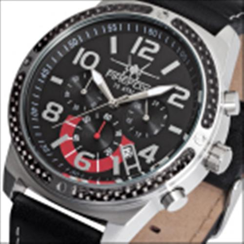 FIREFOX SKYDIVER Chronograph Edelstahl Carbon FFS20-102a schwarz