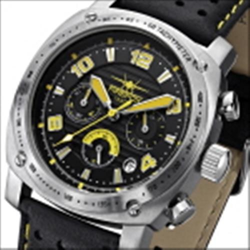 FIREFOX BATTLESHIP Herren Chronograph FFS22-108 schwarz/gelb