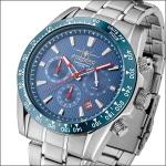 FIREFOX SKY COMMANDER Herrenuhr Chronograph FFS23-103 blau