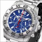FIREFOX Chronograph FFS35-103 Carbon blau - Aussteller!