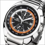 FIREFOX AVIATOR Herrenuhr Chronograph FFS70-107 schwarz/orange Miyota OS11