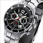 FIREFOX SILVER SURFER Chronograph FFS13-102c schwarz