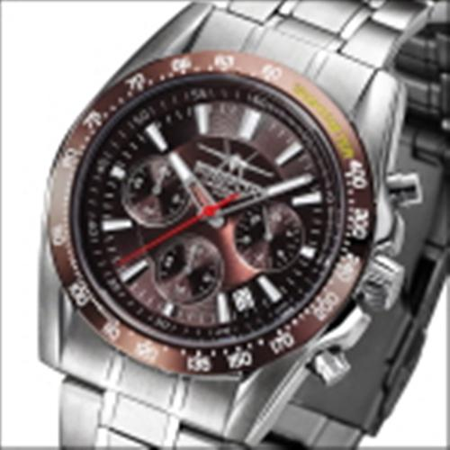 FIREFOX THE MACHINE Herrenuhr Chronograph FFS21-106 braun