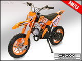 "49cc Croxx Midi Dirtbike 10"" / Crossbike / Pocket / Minicross"