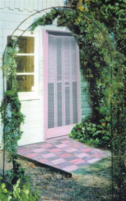 rosenbogen rankhilfe kletterpflanzenger st torbogen ebay. Black Bedroom Furniture Sets. Home Design Ideas