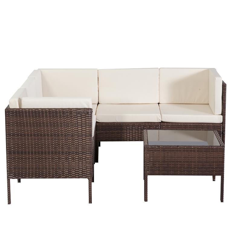 Gartenm Bel Chile Braun Rattan Lounge Garten Sitz Gruppe