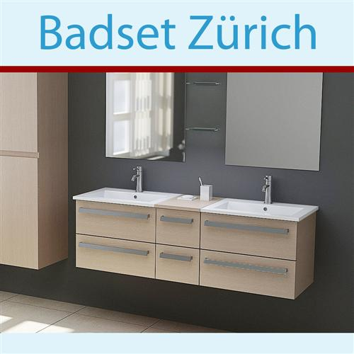 badm bel holz waschtisch z rich waschbecken set ebay. Black Bedroom Furniture Sets. Home Design Ideas