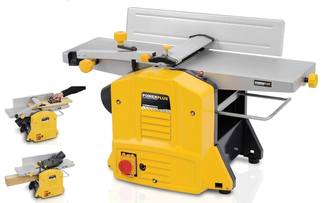 Professional surface planer thicknesser electric joiner 39 s bench planing bench ebay Bench planer