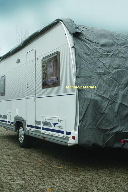 wohnwagen caravan schutzdach cover schutzh lle garage ebay. Black Bedroom Furniture Sets. Home Design Ideas