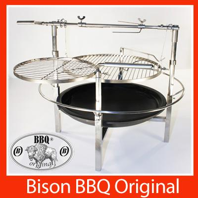 bbq luxus design edelstahl grill holzkohle grillwagen f ebay. Black Bedroom Furniture Sets. Home Design Ideas