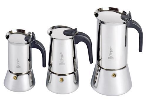 bialetti venus 4 tassen espressokocher edelstahl induktion. Black Bedroom Furniture Sets. Home Design Ideas