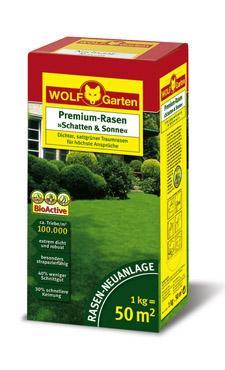 wolf premium rasen schatten sonne lp 50 3820030 ebay. Black Bedroom Furniture Sets. Home Design Ideas