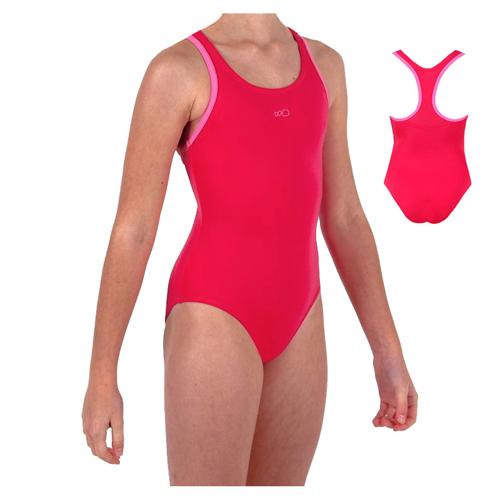 m dchen kinder badeanzug schwimmanzug schwimmer gr 104 110. Black Bedroom Furniture Sets. Home Design Ideas