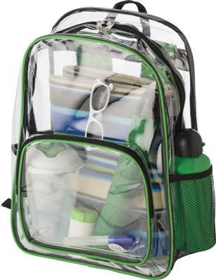Rucksack Tasche transparent verschiedene Farben Utensilienaufbewahrung