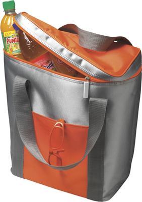 Kühltasche Inhalt für 6 x 1,5 ltr. Flaschen Zipper mit Zugband versch. Farben