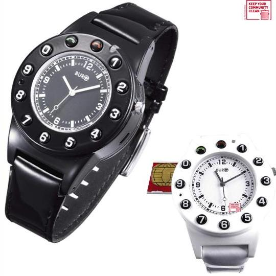 handy burg g5 handy uhr phone watch weiss o schwarz ebay. Black Bedroom Furniture Sets. Home Design Ideas