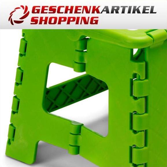"""Faltbarer Kinderhocker """"Happy Color"""", grün"""