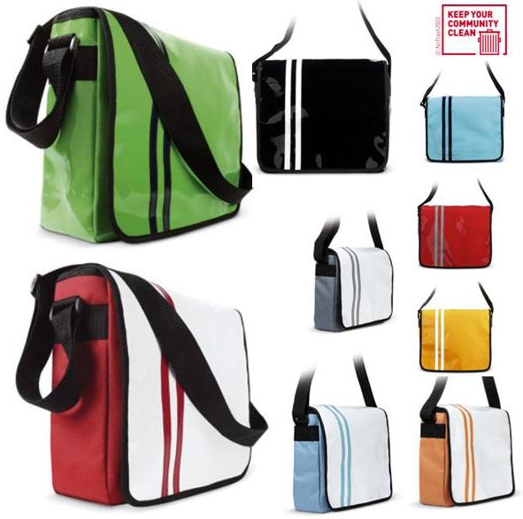 messenger bag kuriertasche lkw plane citybag 9 modelle ebay. Black Bedroom Furniture Sets. Home Design Ideas