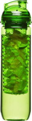Sagaform Trinkflasche Becher mit Früchteeinsatz verschiedene Farben Grün