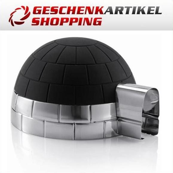 Eiswürfelbehälter IGLU aus Edelstahl-Silikon XD Design