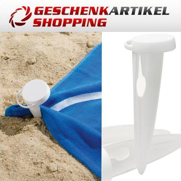 Strandhandtuch Befestigungs Set BEACH PINS Pat. Design