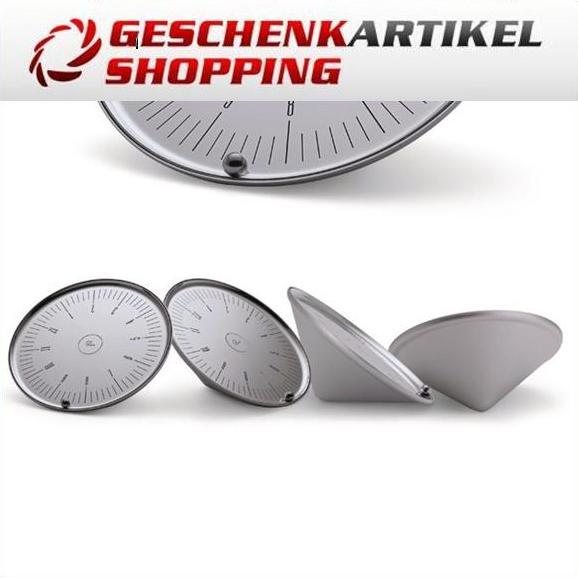 Faszinierende Tischuhr ORBIT von Philippi Design Metall