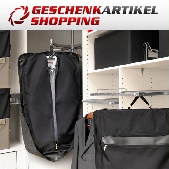 Kleidersack mit Vorfächern Bügel und Schultergurt