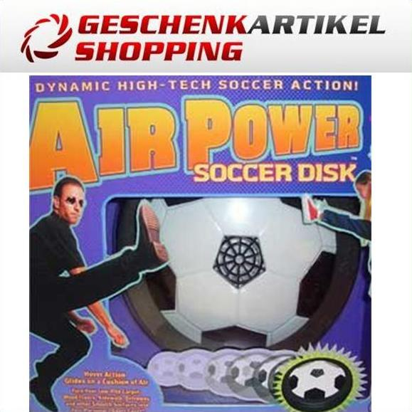 Air Soccer Fussball Scheibe Luftantrieb Indoor Outdoor