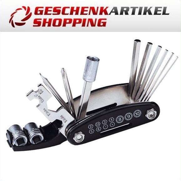 Fahrrad Reparatur Set 17-teilig Flickzeug Gürteltasche