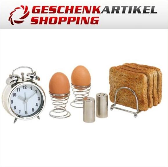 "Frühstücks-Set ""Perfect Morning To Ya"" Eierbecher 6 tlg"