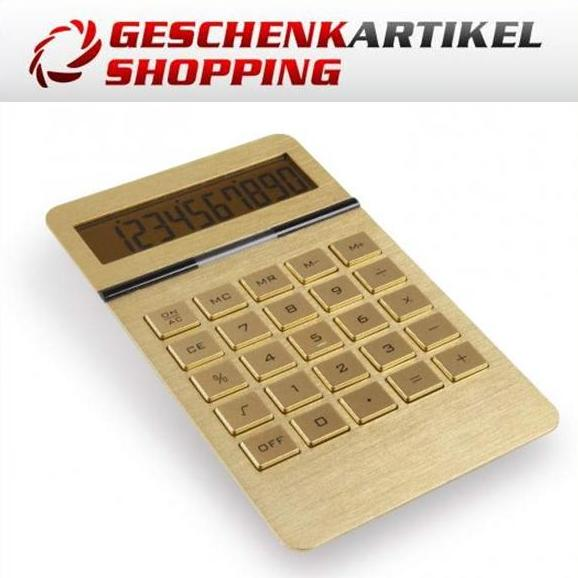 Tasche NEU Taschenrechner Rechner Tischrechner Uhr Weckfunktion inkl