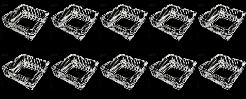 10er set glas aschenbecher ascher tischaschenbecher balkon aschenbecher ebay. Black Bedroom Furniture Sets. Home Design Ideas