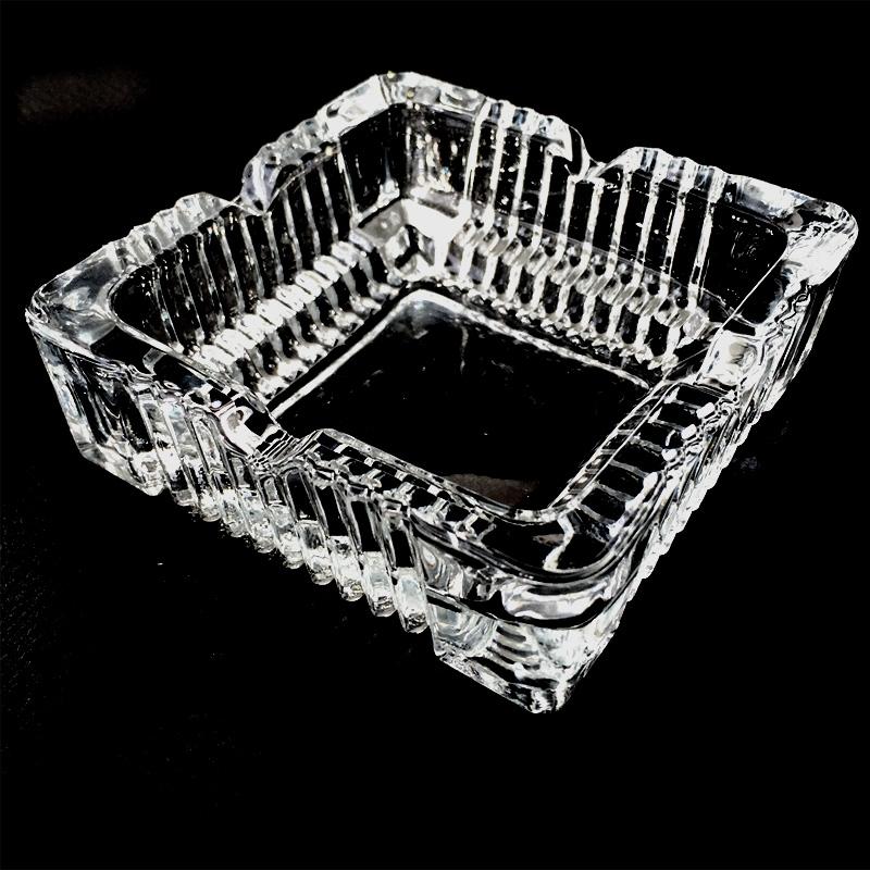 2x dicke glas aschenbecher eckig ascher glasascher balkon aschenbecher ebay. Black Bedroom Furniture Sets. Home Design Ideas