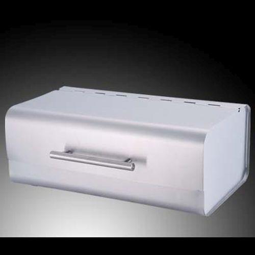 design edelstahl brotkasten luxus brotbox silber. Black Bedroom Furniture Sets. Home Design Ideas