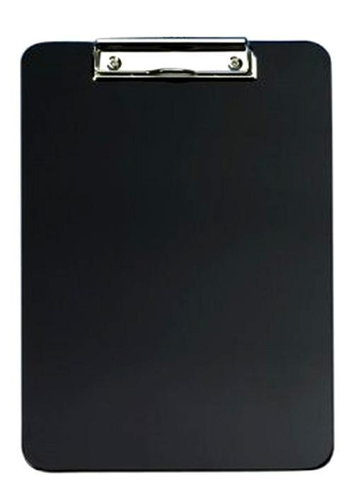 10x Klemmbrett A4 schwarz | Klemmmappe
