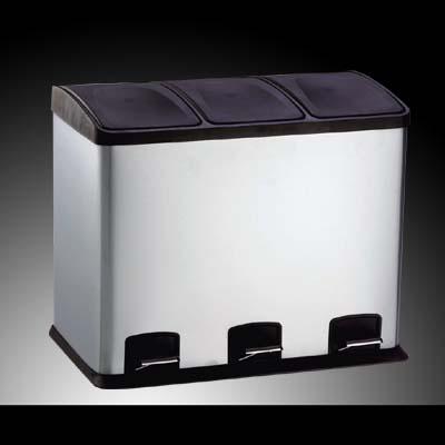 36 liter treteimer abfalleimer mulleimer mulltrennung for Treteimer küche