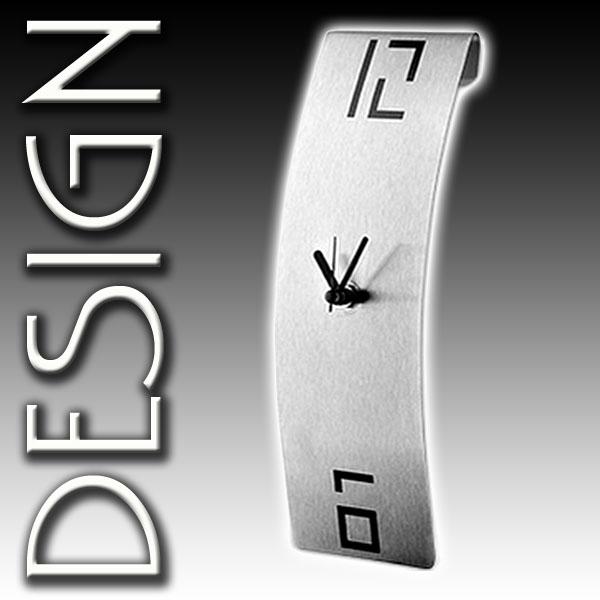 clock arts designer wanduhr mit gekr mmtem korpus aus. Black Bedroom Furniture Sets. Home Design Ideas