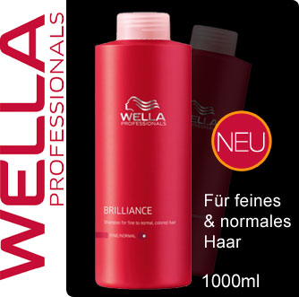 WPS-WELLA-Professionals-Care-BRILLIANCE-Shampoo-fuer-coloriertes-Haar-1000ml-NEU